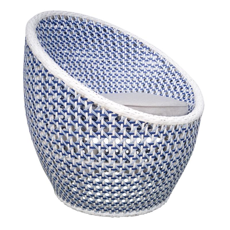 Salima swivel sofa CRISTAL 7 MM WIKER SHELL BLUE 800X800 2 1