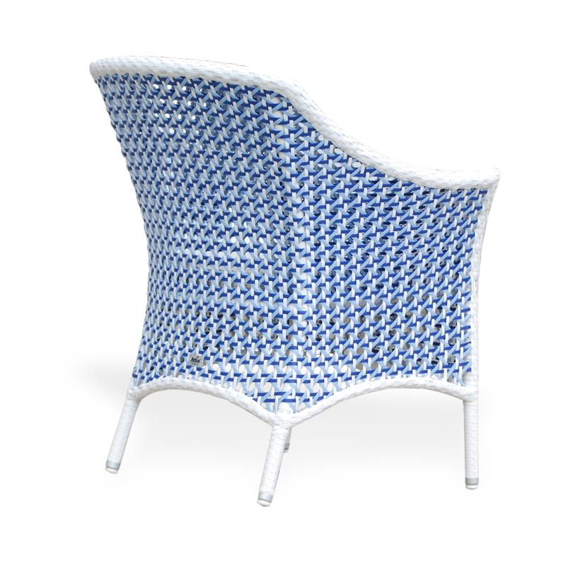 SILLA PISA C135C CRISTAL SHELL BLUE d