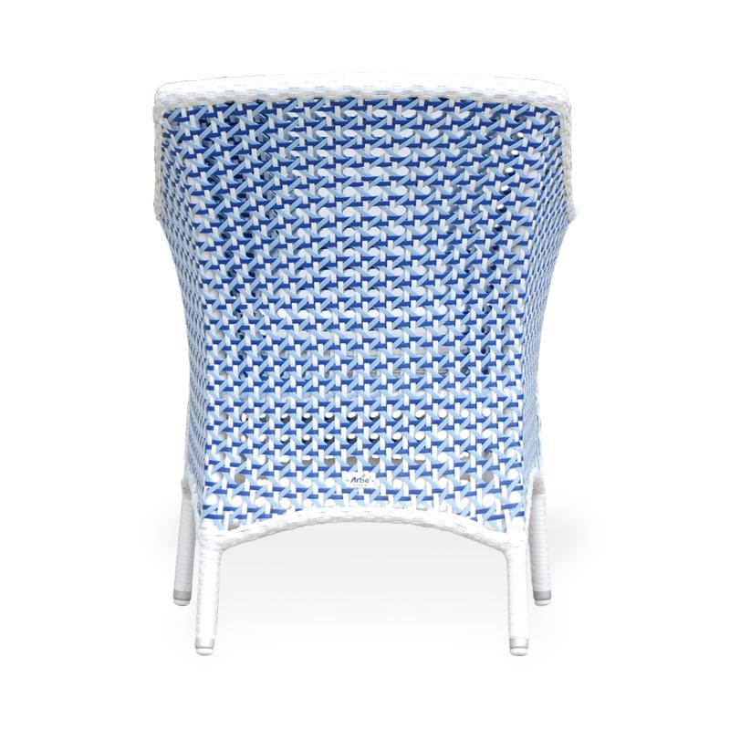 SILLA PISA C135C CRISTAL SHELL BLUE e