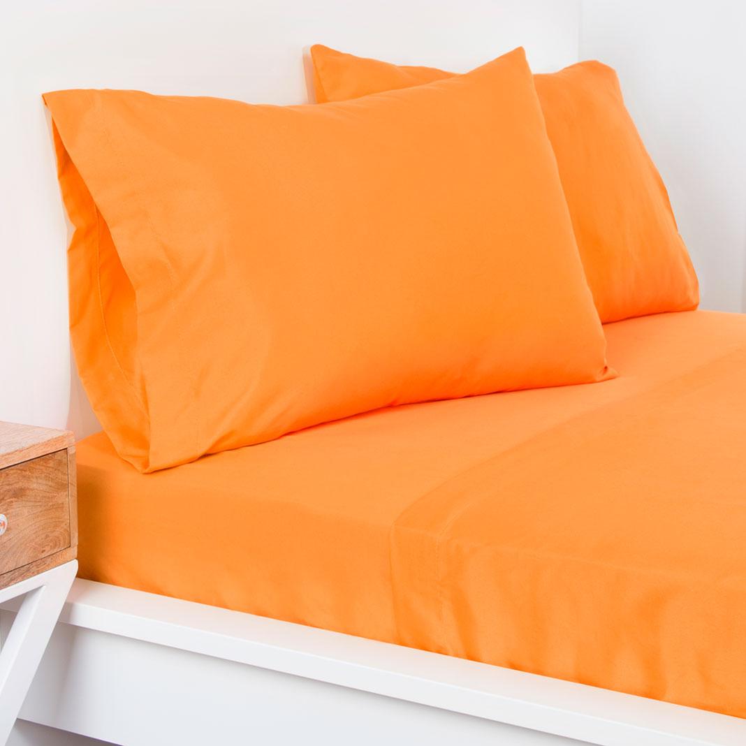 Crayola Sheet Set Full Outrageous Orange